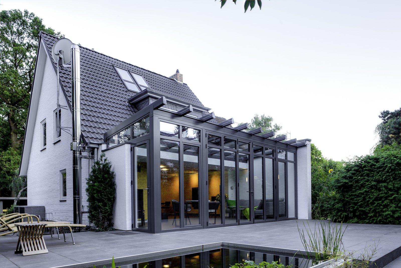 Wintergarten Und Modernisierug Eines 60ger Jahre Hauses Embert